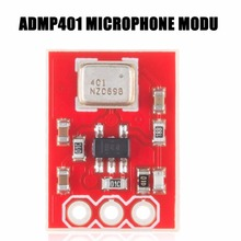 ADMP401 MEMs Microphone Breakout Module Board Universal 1.3cm*1cm With Bottom Ported Input & A Gain Of 67 Drop Shipping(China)