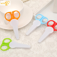 1 pic baby scissors shearer manicure set trimmer nail care Nail Clippers money clip manicure scissors TAQ37