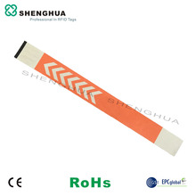 10pcs/pack 915mhz RFID Wristband Bracelets UHF Smart Passive RFID Label Sticker Low Cost Cheap Good For Identification Security