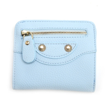 2017 Fashion Women Girl Mini Wallet Card Short Holder Faux Leather Coin Purse Handbag Small Change Bag Brand New Elegant Hasp(China)