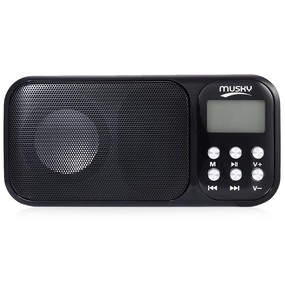 HJ - 92 Portable Speaker With Mini USB FM Radio Rechargeable Loudspeakers Music Player With TF Card Slot AUX Audio Input<br><br>Aliexpress