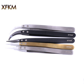 XFKM Excellent Mutifunction Ceramic Tweezers Rebuild DIY tools Electronic Cigarette