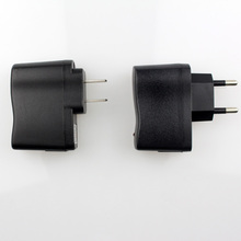 50pcs/lot EU wall charger ego ecig plug adapter travel charger e cig wall usb for usb cable line electronic cigarette