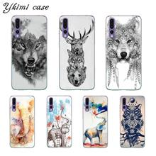 huawei p8 lite 2017 coque silicone loup