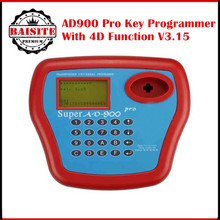 2017 DHL Free shipping super AD900 pro Key Programmer Tool AD900 Transponder Clone Key programming machine with best price(China)