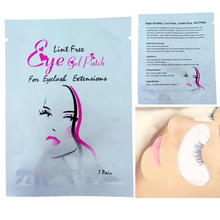 200 pairs/lot New Type Best Quality eyelash extension lint free eye pads from south korea free shipping(China)
