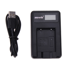 NP-45 Smart Digital Camera USB Battery Charger With LCD Power Display Battery Charger For Fujifilm Digital Cameras
