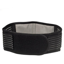 Men's Elastic Adjustable Waist Support Brace Belt Pain Relief Sports Protection Self-heating Body building Back Belts Posture Z2(China)