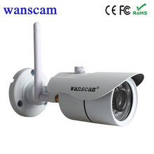 Hot Wanscam HW 0043 720P Waterpoof outdoor bullet wireless wifi cctv camera IP Camera Wireless support computer and NVR record(China)