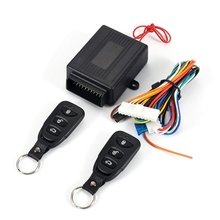 Universal Car Auto Remote Central Kit Door Lock Locking Vehicle Keyless Entry System With Remote Controllers Car alarm System