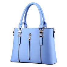 Bqueen Newest Design Female Bags Solid Color Yellow Beige Lavender Sky Blue Grey Pink Totes Elegant Lady Fashion Handbags
