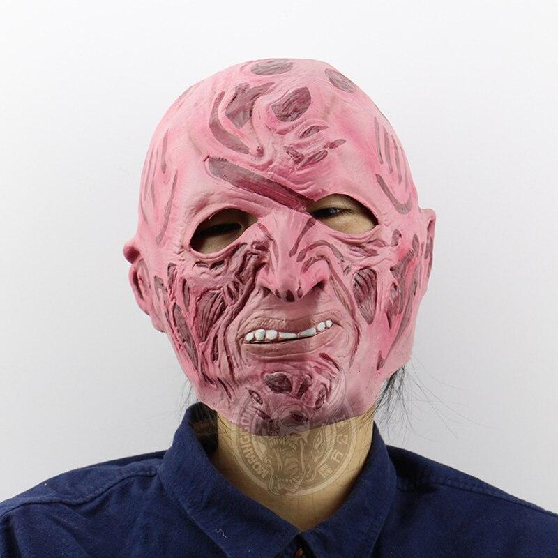 2018 mascaras halloween terror scary Mask de latex realista Crazy