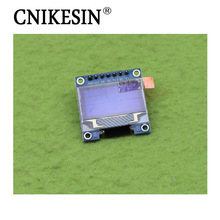 CNIKESIN 0.96 Inch O LED Display 7 Pin LCD Module Yellow and Blue (D5A6)