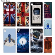 Comic Book Collages doctor who (13) skin hard White phone case cover for Sony Xperia z5 z4 z3 z2 z1 M5 M4 Aqua XA