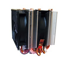 Four heat pipe dual fan CPU Cooler Heatsink for Intel LGA1150 LGA1151 LAG1155 LAG775 LAG1156 AMD FM2 FM1 AM3+ AM3 AM2+