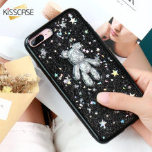 Buy New KISSCASE Cute Bear Silicon Case iPhone 7 7 plus Cases iPhone 6 6s plus Flash Clear Cartoon Cute Soft Back Cover Capa for $3.49 in AliExpress store