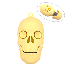 cool diamond Skull Heads pen drive monster usb flash drive pendrive 4GB 8GB 16GB 32GB cartoon memory stick