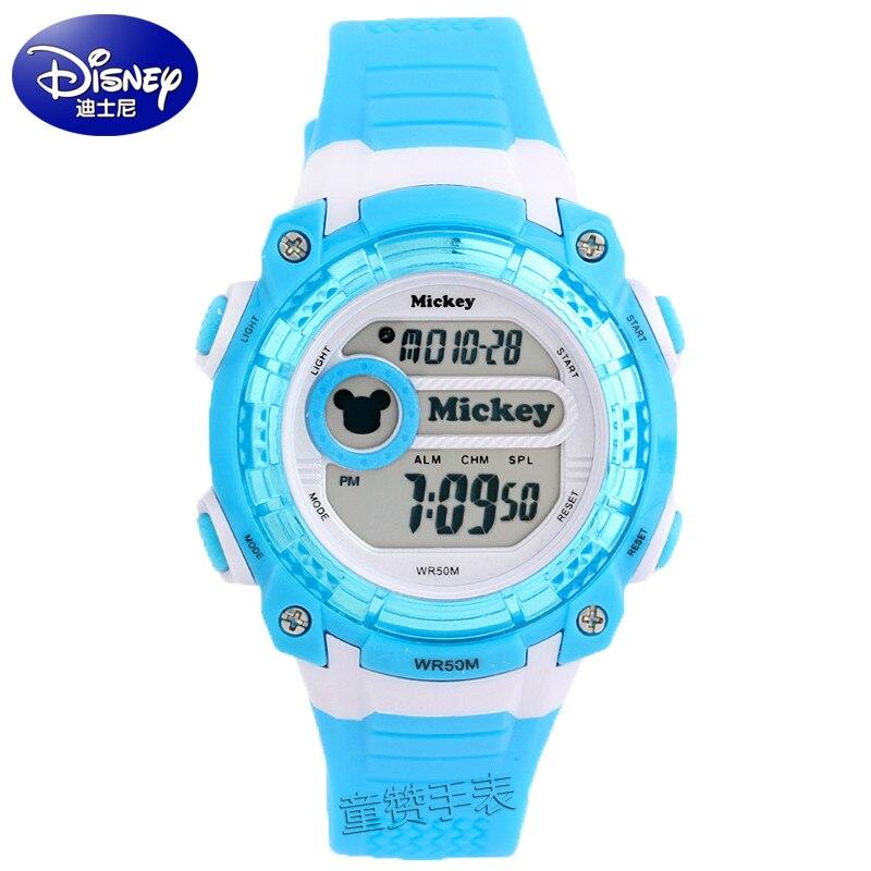 Disney Brands Arrival Children Girls Boys Watch Digital Display Alarm Sports Wrist Watch Electronic Rubber 3 Colors Kids Watch<br><br>Aliexpress