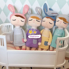 35 CM Cute Metoo Angela Dolls Bunny Baby Toy Stuffed Animal Baby Plush Doll Stuffed Toys for kids girls Birthday/Christmas Gift