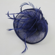 4 Colors Elegant Large Headband Aliceband Hat Fascinator Weddings Party Decor Supplies Hot