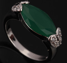 Enjoyable Party Occasion Peridot Green Stones Solitaire Fashion Women's Jewelrys 925 Sterling Silver Rings Size 6 7 8 9 S0281