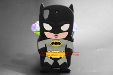 For HTC Desire 626 HTC626 Covers New Style 3D Cartoon Cute Batman Super Hero Series Soft Rubber Back Phone Cases Free Shipping