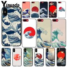 Чехол для телефона Yinuoda Hokusai The Great Wave для iphone 11 Pro Max 8 7 6 6S 6Plus X XS MAX 5 5S SE XR(China)