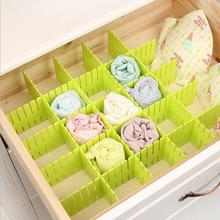 4 pcs/lot New Creative Household Tools Organizer Storage Tools Drawer Partition Board Compartment.