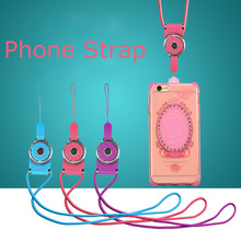500pcs Rotation Cell Phone Mobile Phone Neck Chain Straps Key Keychain Hang Rope Lariat Lanyard Detachable Camera Straps Univers