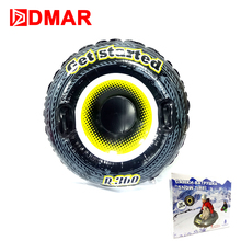 DMAR 95cm/37'' Inflatable Skiing Sled Ski Board Snow tire Slippery Grass For Adults Kids With Handle Sand Float 2017 Winter(China)