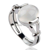 Free Shipping Vampire Twilight Jewelry Bella Engagement Wedding Ring Moonstone Ring for Valentine's Day(China)