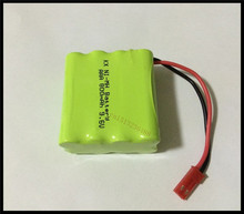 2 PCS/lot KX Original New Ni-MH AAA 9.6V 800mAh Ni-MH Rechargeable Battery Pack With JST Plugs Free Shipping(China)