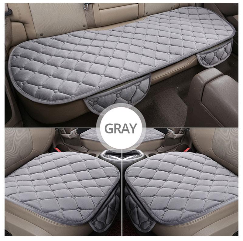 For KIA RIO Cerato Sportage QL Car Seat Cover Universal Auto Winter Soft Warm Seats Cushion Cars Chair Covers Protector General (13)
