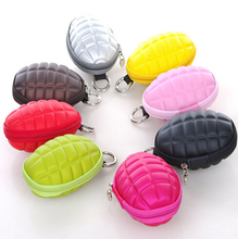 Storage Bags High quality Grenade Key Case / Grenade Coin Case / Grenade Coin Purse 10pcs(China)