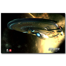 Star Trek 3 Beyond Art Silk Fabric Poster Print 13x20 24x36inch New Movie USS Enterprise Picture for Room Wall Decor 025