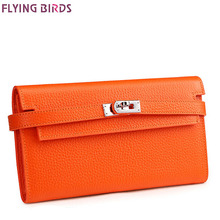 FLYING BIRDS women pu Wallet High Quality Design women Purse Brand Wallet dollar price coin bag card holder new arrive LM3611fb