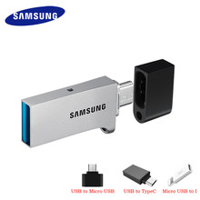SAMSUNG micro USB Flash Drive Disk 130MBS 64GB 128GB USB 3.0 OTG Mini Pen Drive 32GB Pendrive Memory Stick Storage Device U Disk