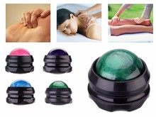 4 pcs/lot resin massage roller ball Pain Stress Relief for Foot Arm Neck Back Hip Body Massager ball Therapy Tool Muscle Relax(China)