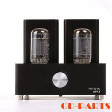 APPJ PA1501A Mini Stereo 6AD10 Vintage Vacuum Tube Amplifier Desktop HIFI Home Audio Valve Tube Integrated Power AMP