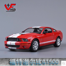 Ford Shelby GT500 Cobra Welly FX car model 1:24  Mustang Original simulation sports car model Fast and Furious Dodge Challenger
