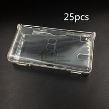 25pcs Clear Protective Housing Shell Cover Case for Nintendo DS Lite for NDSL Game Console