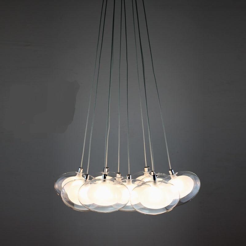 modern Egg in egg pendant lights minimalist fashion A1 creative art concept light restaurant small retest stairs LED lamp ZA<br>