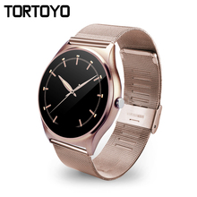 Z02 Smart Watch Slim Thin Metal Round Smartwatch Phone Heart Rate Sync Call Push Message Relogio for iphone IOS Samsung Android