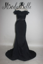 Elegant Sweetheart Black Bridesmaid Dresses Robe De Demoiselles D Honneur Pour Mariage Mermaid Floor Length Wedding Party Dress