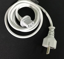 High quality NEW  Europe Plug 1.8M Power cord cable for IMAC Computer Macbook EU plug charger adapter