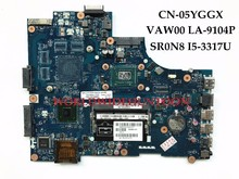 High quality VAW00 LA-9104P for Dell Inspiron 3521 5521 laptop Motherboard CN-05YGGX 5YGGX SR0N8 I5-3317U DDR3L Fully Tested(China)
