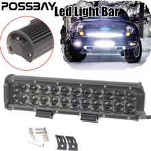 8/12/18/30/60/90/120W LED Work Light Bar Driving Fog Lamp Flood/Spot/Combo Beam For ATV SUV Offroad Truck Tractor Boat Lighting