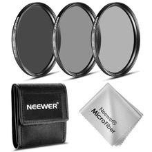 Neewer 62MM Photography Filter Set (ND2 ND4 ND8)+Cleaning Cloth for the PENTAX DSLR Cameras with a 18-135mm F3.5-5.6 AL zoom Len(China)