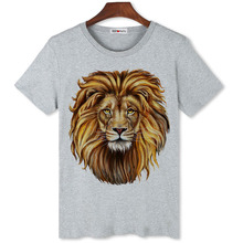BGtomato T shirt Compression shirts king lion 3d t Men's good quality brand tshirt summer fashion anime - Official Store store