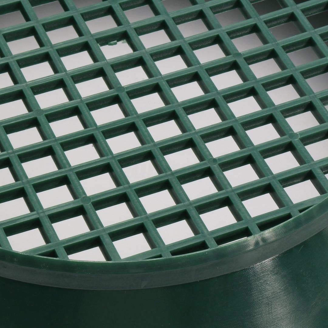 Wash Brush Sifting Classifier Gold Pan Classifier Mesh Screen Mining Sifter Metal Detecting Tools Plastic Green Basin Case